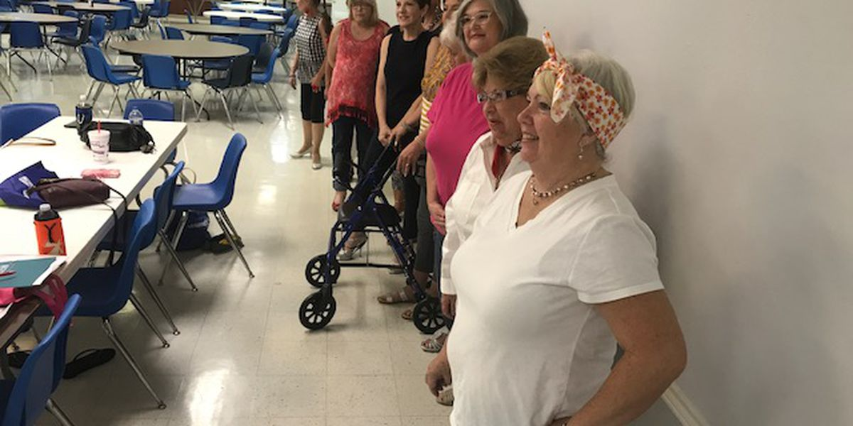 Contestants attend Tyler workshop for pageant that showcases women over 60