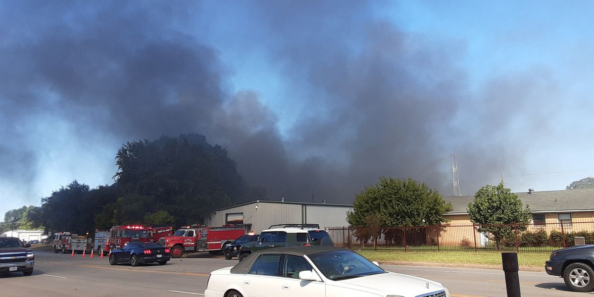 Fire guts Dillon Manufacturing in Athens, no injuries reported