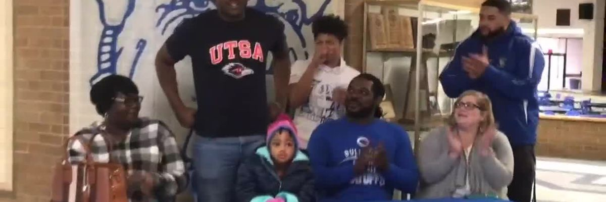 WEBXTRA: National Signing Day - Crockett