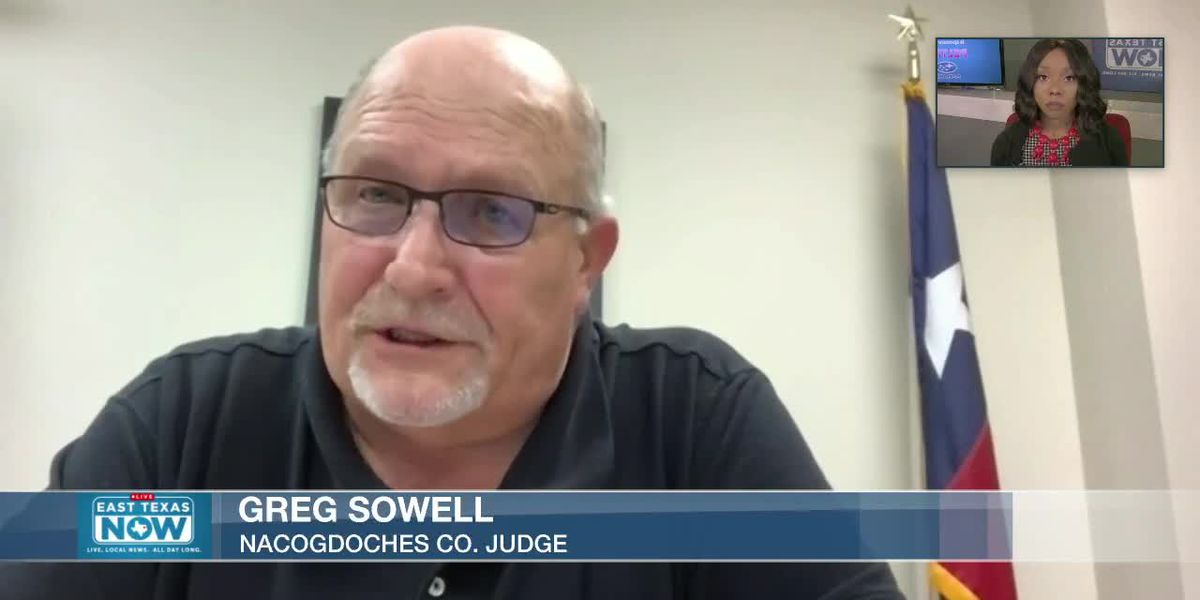 WATCH: Nacogdoches County judge expresses caution following governor's new orders