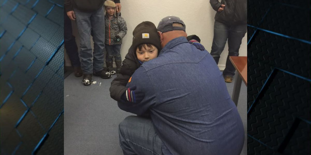 Family reunites with missing East Texas boy