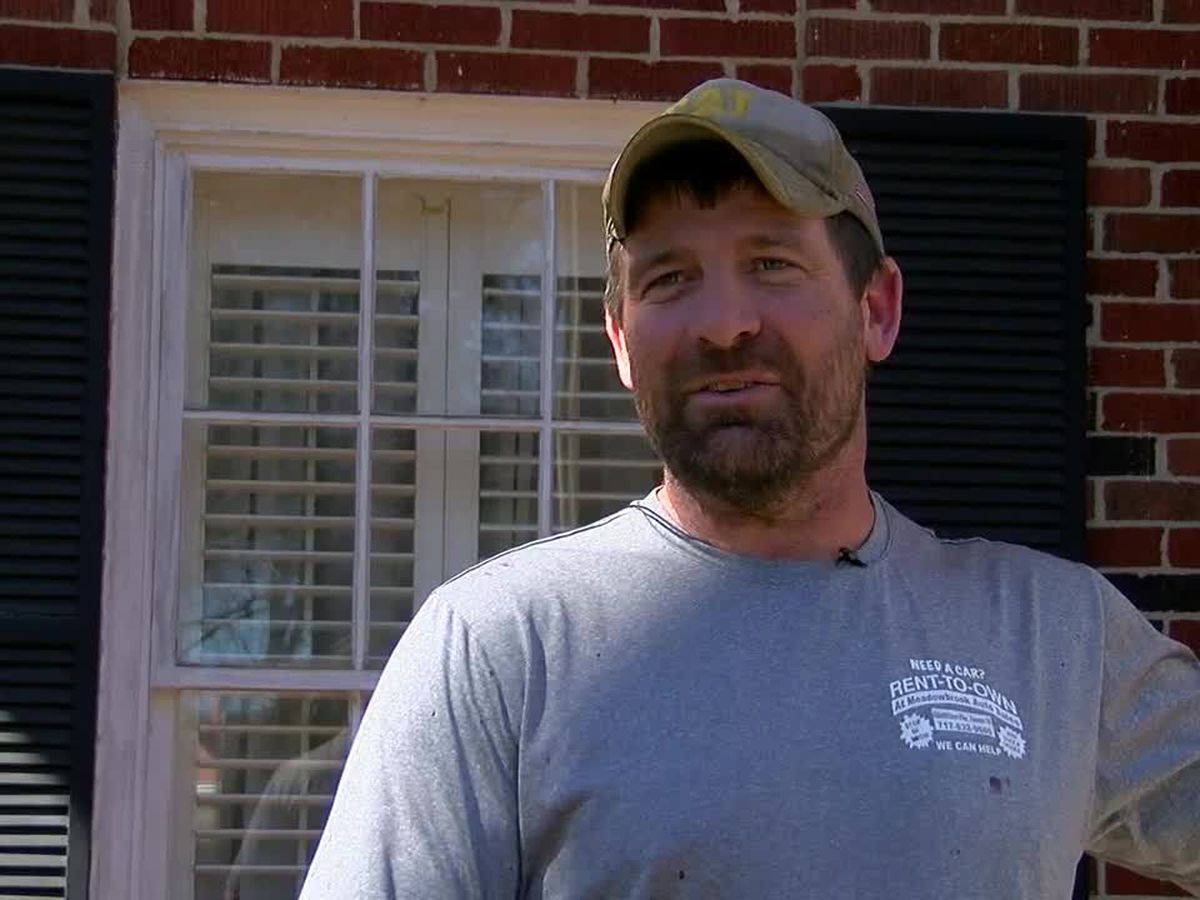 WEBXTRA: Pennsylvania man returns to Tyler to help winter storm victims