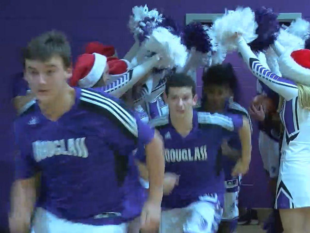 Dec.10 basketball: Douglass sweeps competition