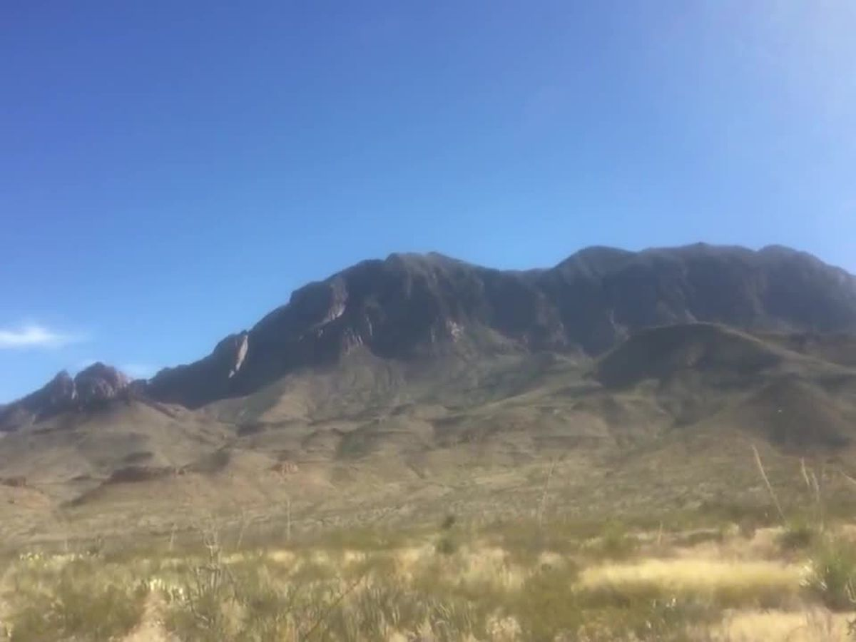 WEBXTRA: Bob Hallmark visits Big Bend National Park