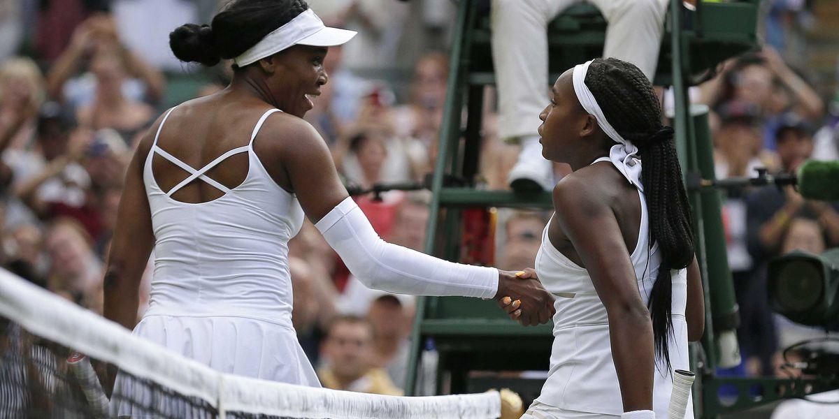 Gauff, just 15, shocks 5-time champ Venus, 39, at Wimbledon