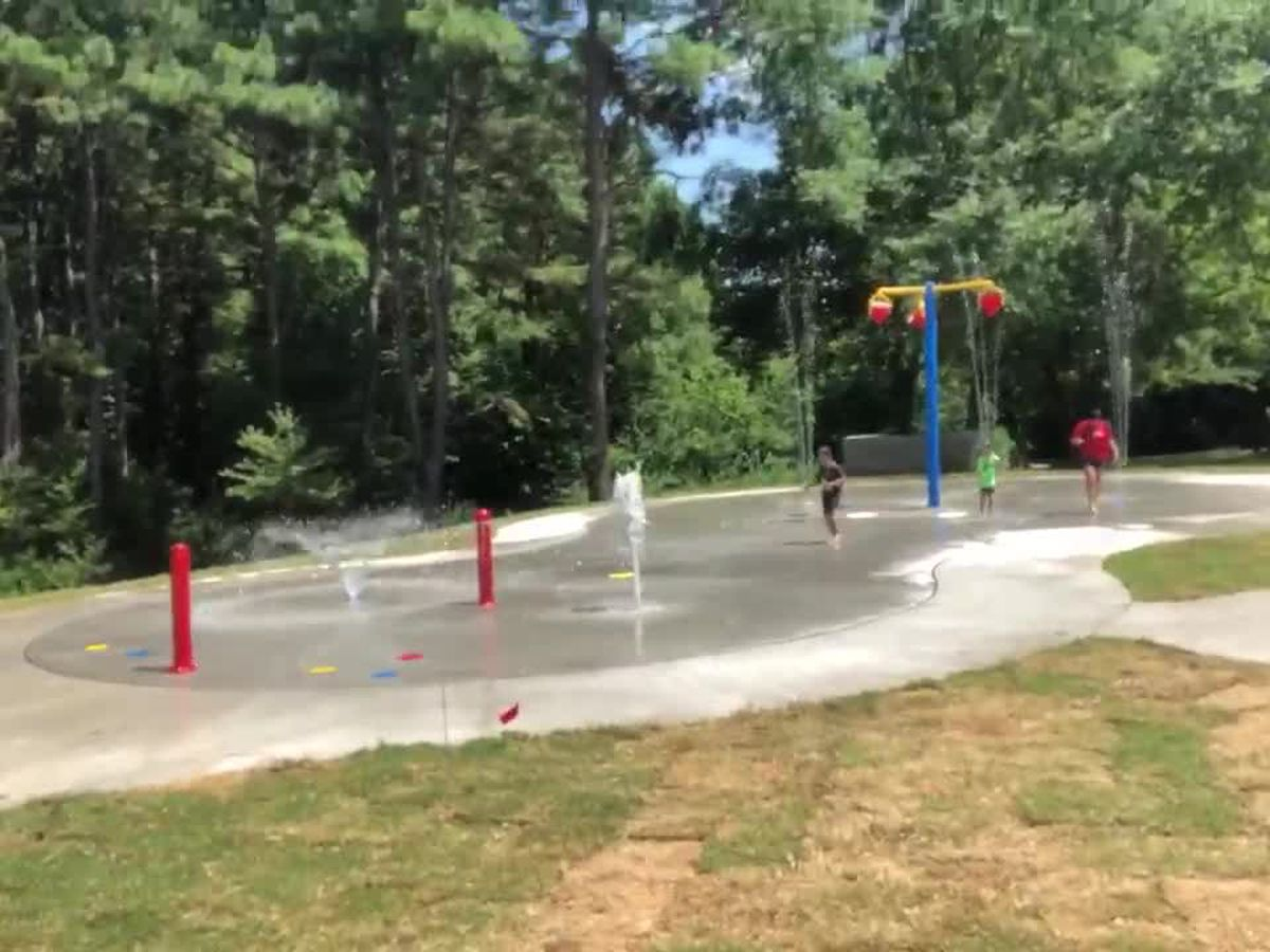 New splash pad at Glass Recreation Center to open over the weekend