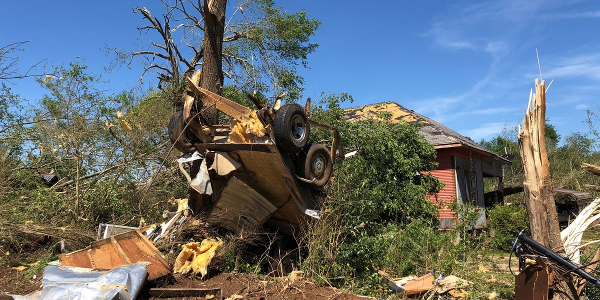NWS Shreveport gives more specifics about fifth tornado, southwest of Chireno in Nacogdoches County