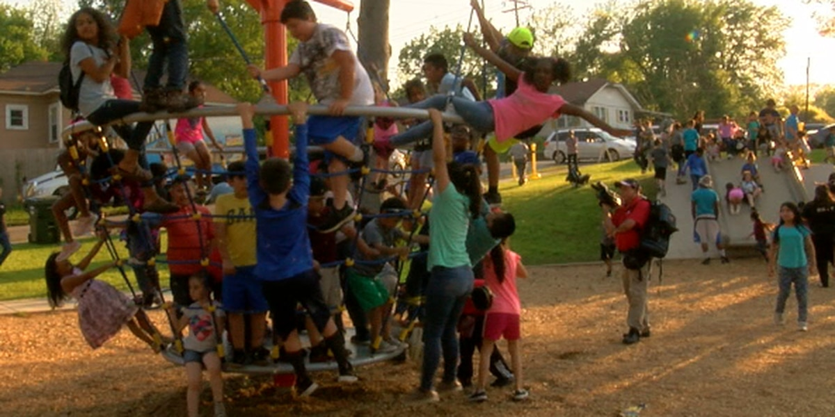 Community helps City of Tyler unveil renovations, new art wall at Hillside Park
