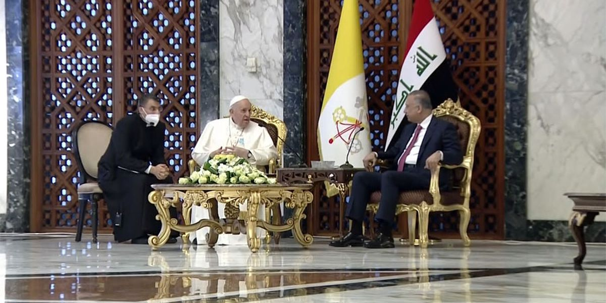 Pope arrives in Iraq to rally Christians despite pandemic