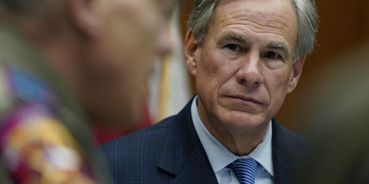 WATCH: Governor Abbott news conference on broadband access across Texas March, 29