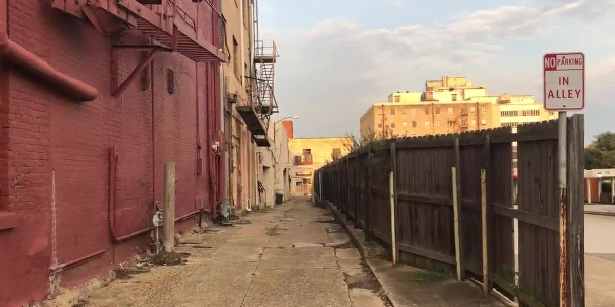 WEBXTRA: City of Tyler looking for artists to decorate downtown alleyway