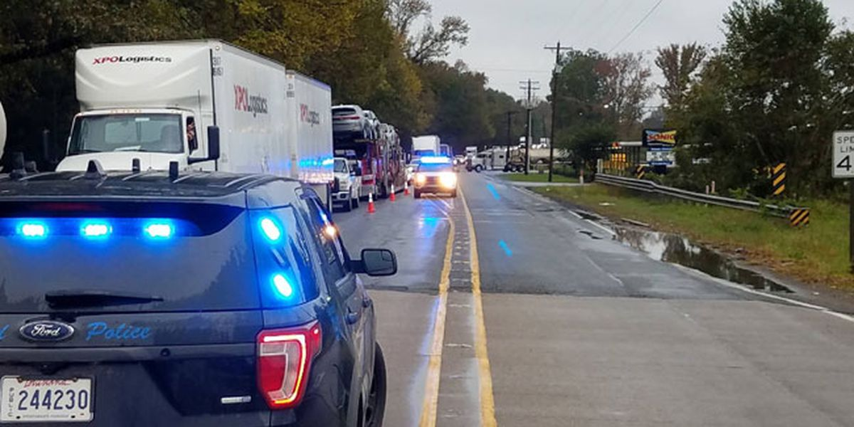 Harrison County Sheriff's Office: Eastbound lanes of 1-20 closed on Louisiana side of border