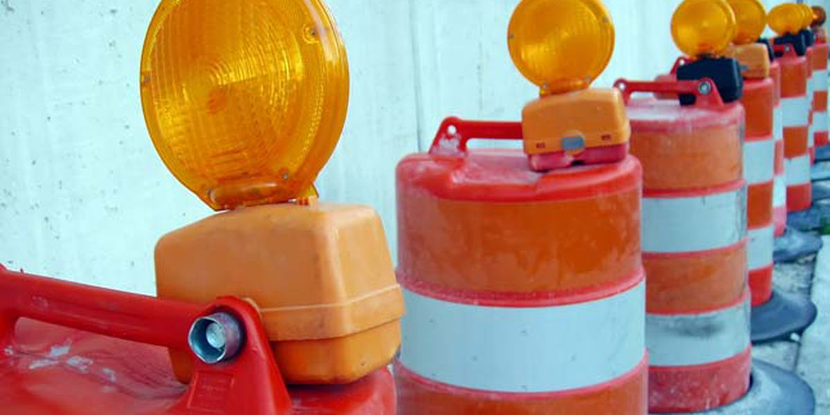 East Texas roadwork for the week of May 6