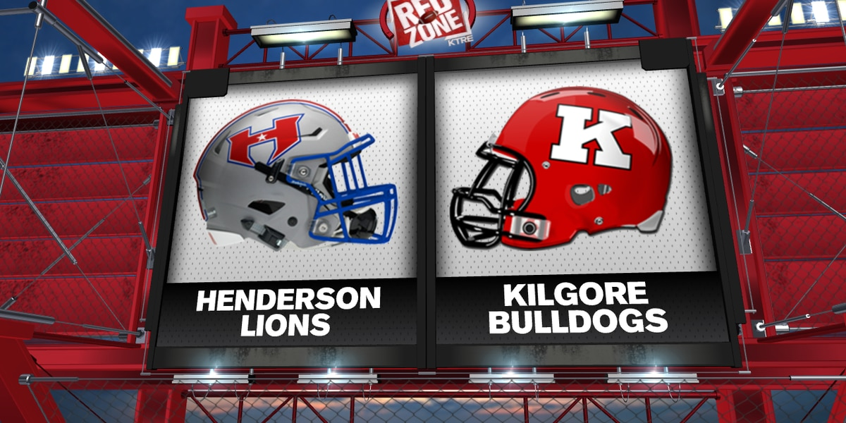 Long-time rivals Henderson, Kilgore clash in Red Zone Game of the Week