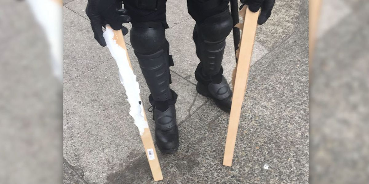 At least 13 people arrested at Portland, Oregon, protest