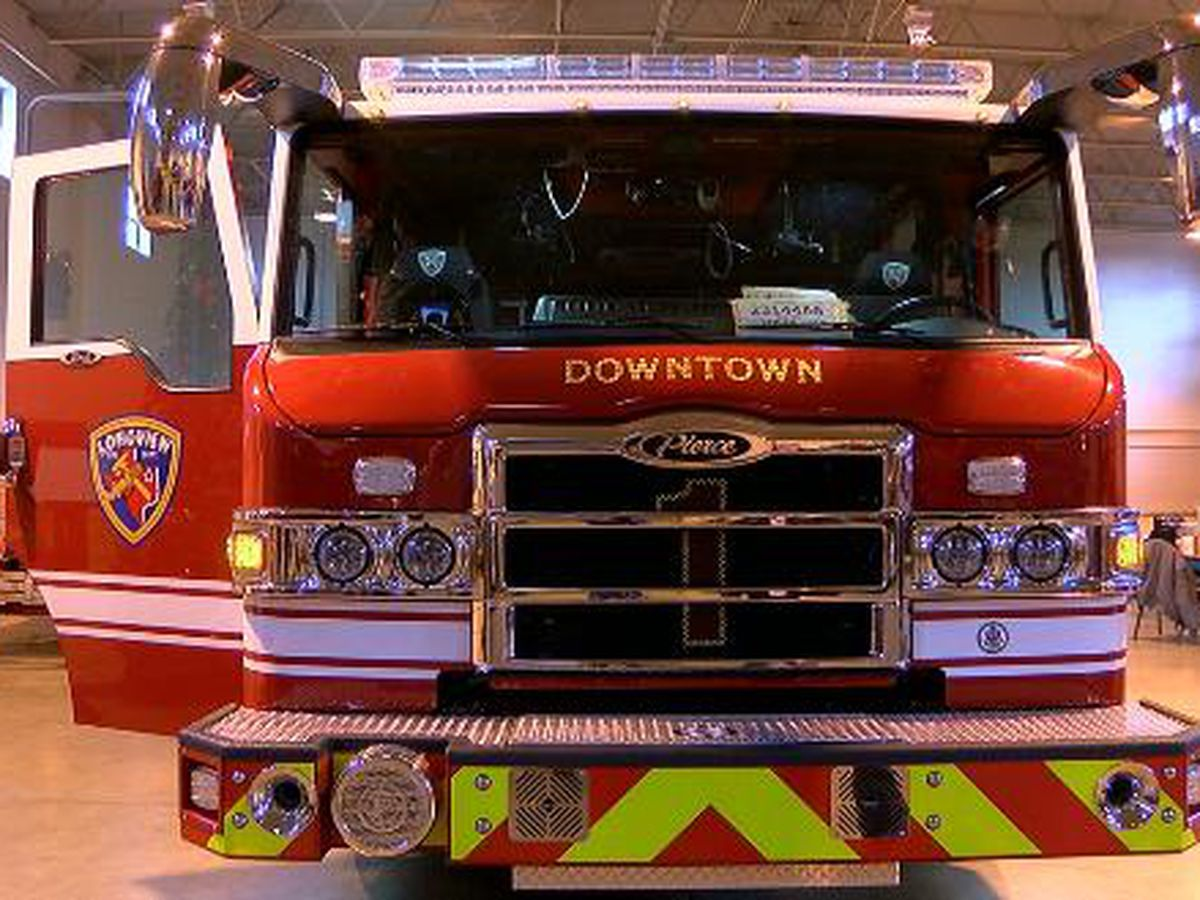 Fire marshal shows off Longview's new Engine 1