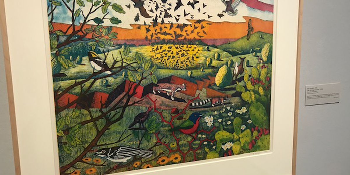 Lone Star Impressions exhibit on display at Tyler Museum of Art