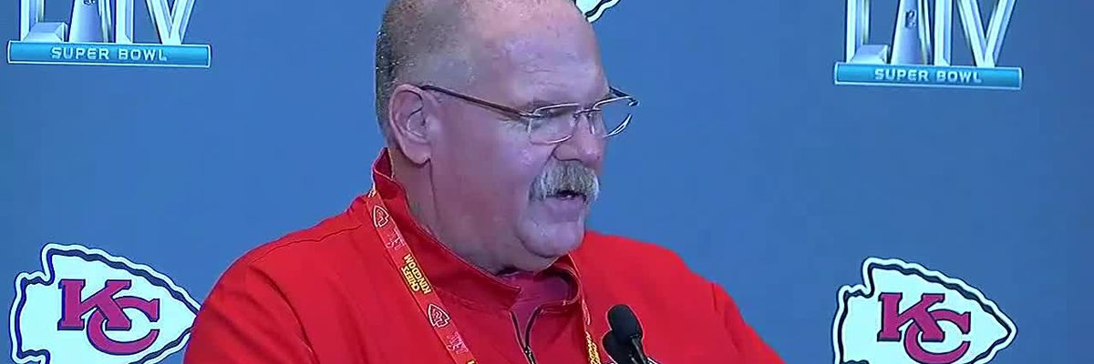 Coleman on the Road: Coach Reid speaks about Smith, Mahomes' relationship
