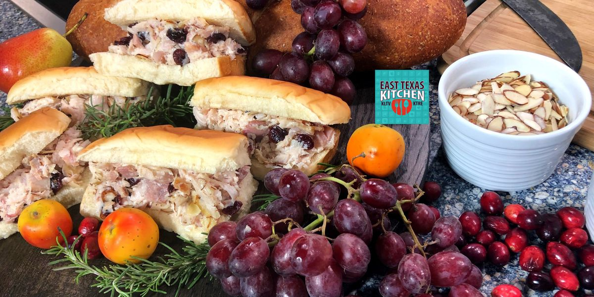 Smoked turkey-cranberry salad by Bear Creek Smokehouse