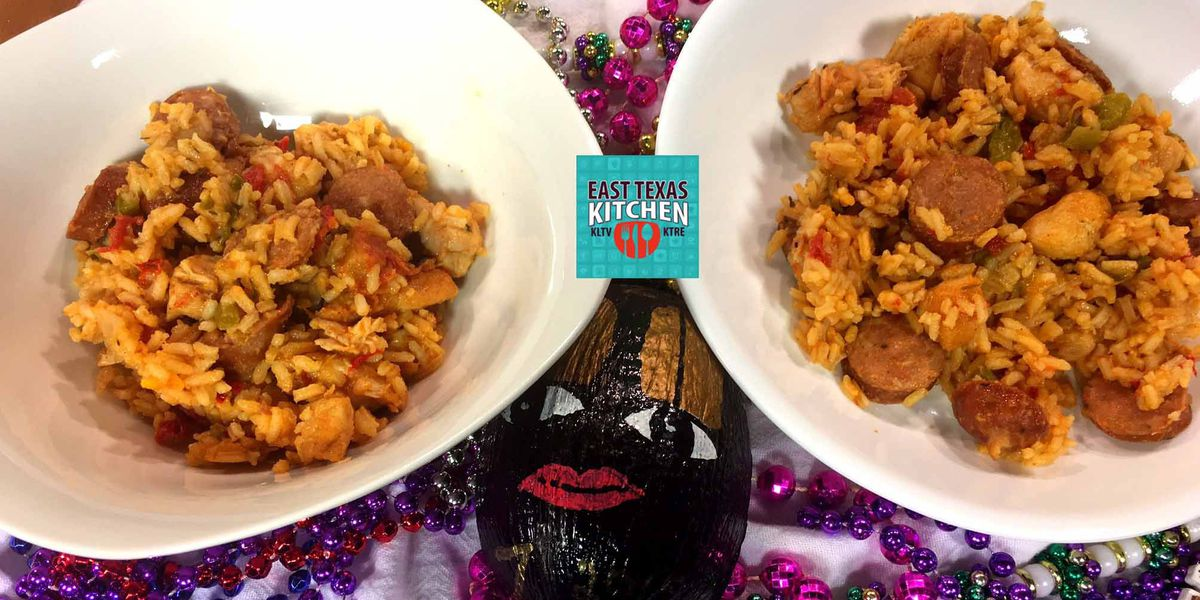 Chicken and sausage jambalaya by Mama Steph