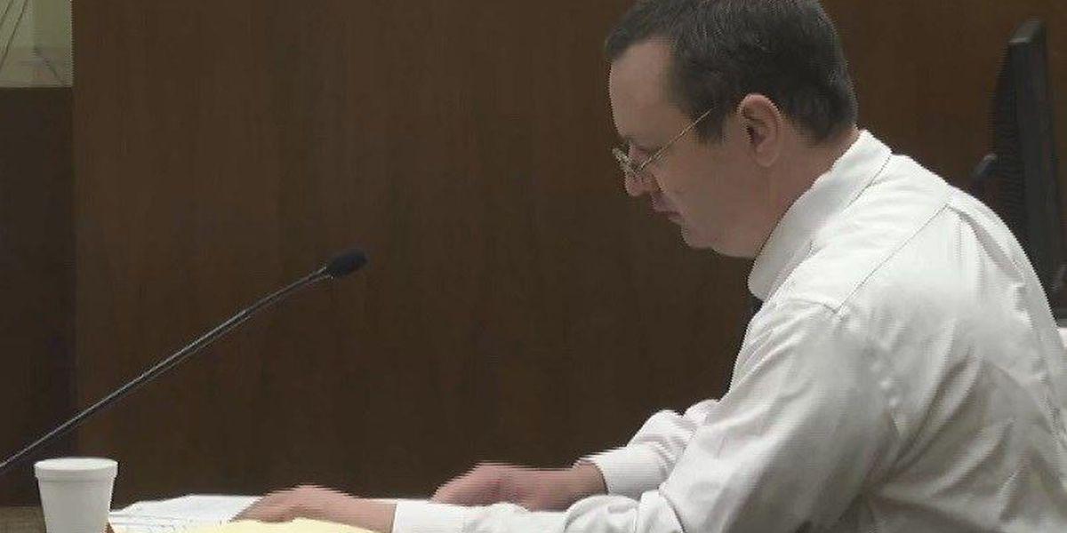 Capital murder suspect's shock belt administered, judge terminates self-representation