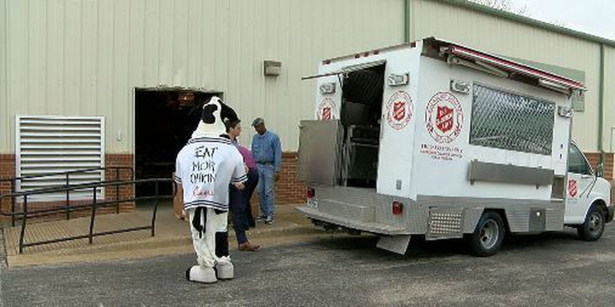 Chick-Fil-A donates soup to Tyler Salvation Army
