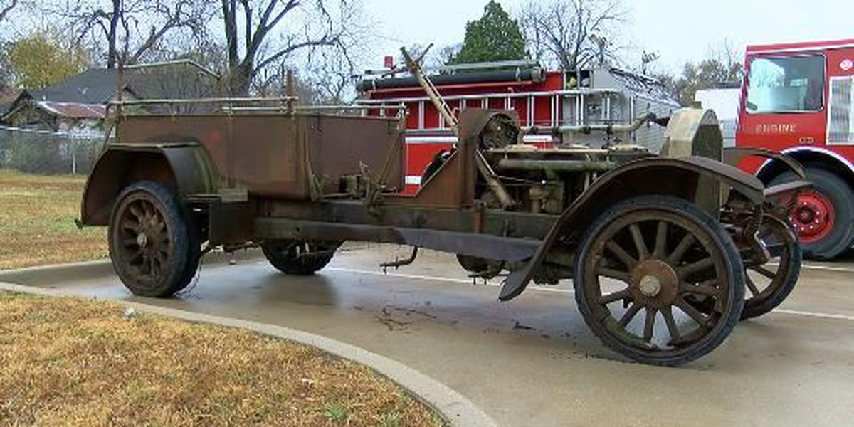 Century-old fire engine found, returned home to Marshall Fire Department