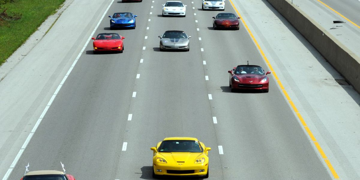 Corvette Caravan to pass through Amarillo on the way to Bowling Green, Kentucky
