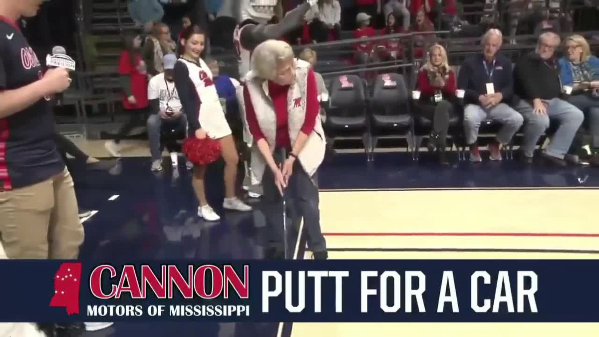 WATCH NOW: Interview with 84-year-old woman who sank 94-foot putt to win new car