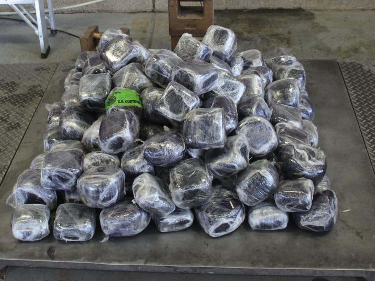 CBP Field Operations seizes over $4 million in methamphetamine
