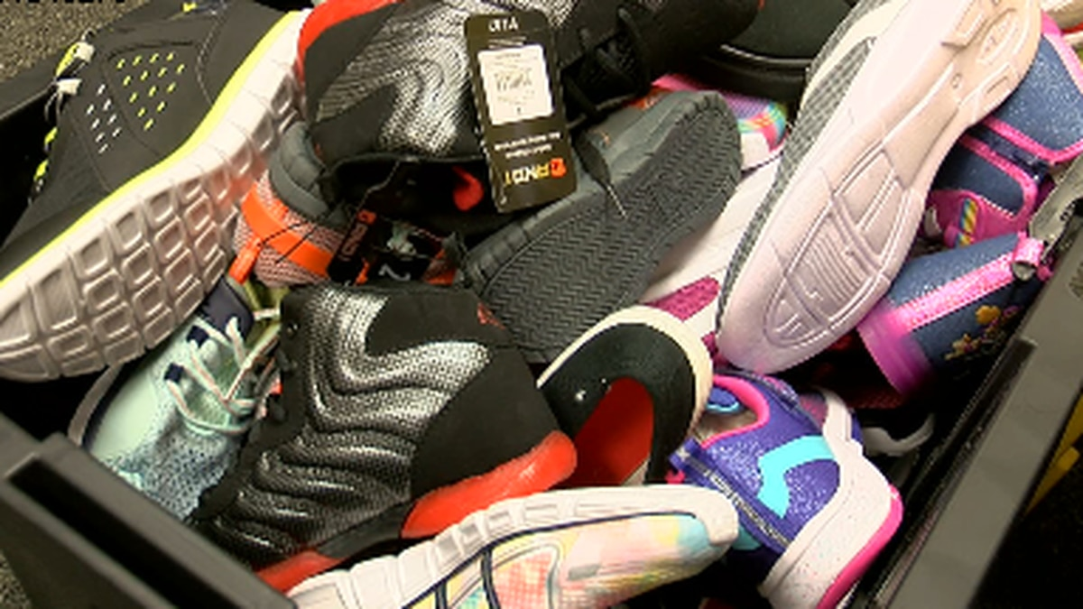 Jack Elementary School serving students across district with shoe drive