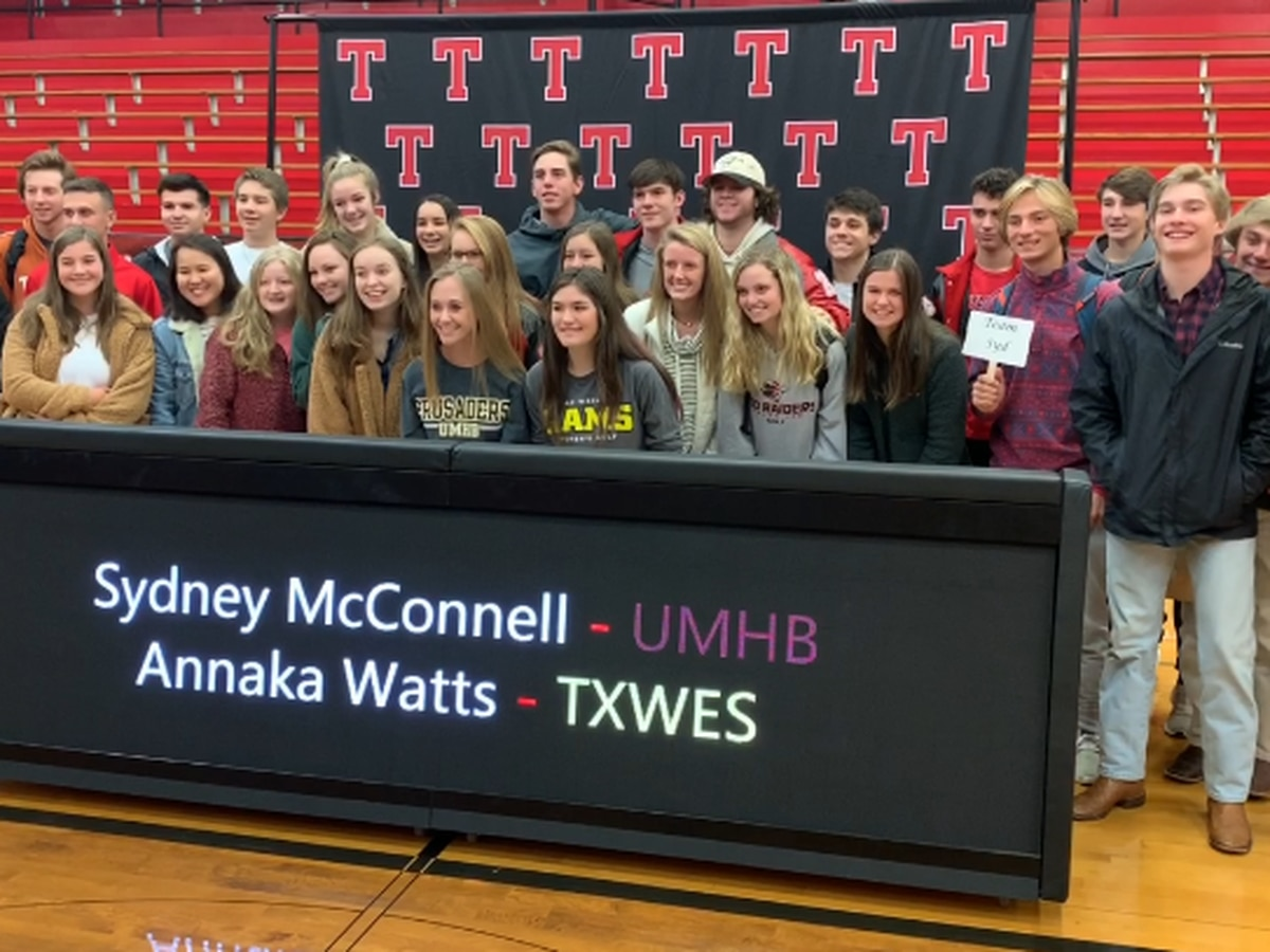 Tyler Lee student-athletes sign letters of intent to play golf at collegiate level