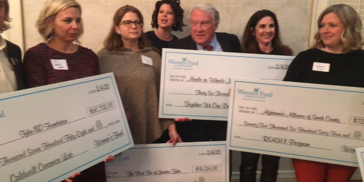 Women's Fund of Smith County award grants to five Smith County nonprofits