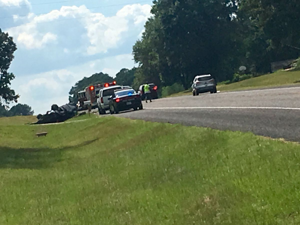 TRAFFIC ALERT: Crews on the scene of crash on Highway 64 west and County Road 413