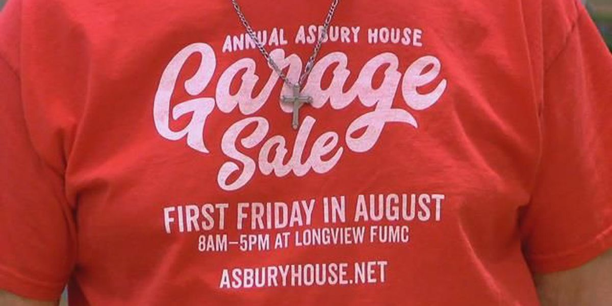 Asbury House garage sale hopes to raise thousands for education