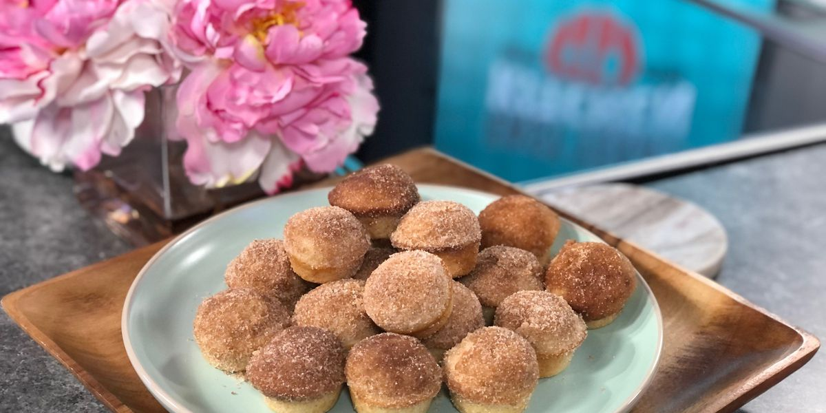 Cinnamon doughnut mini-muffins by Mama Steph