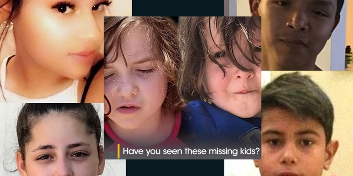 National Center for Missing & Exploited Children list 6 missing kids from Lubbock
