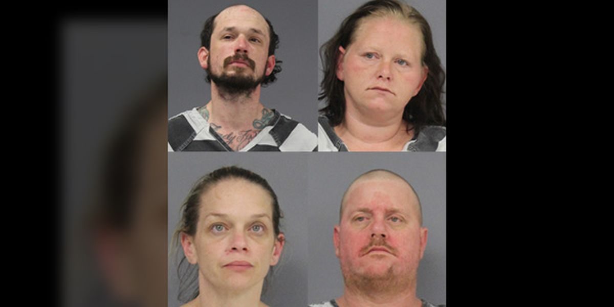 Five arrested following multiple thefts, stolen weapons found in Hopkins County woods