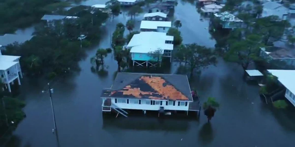 Catastrophic flooding feared as Sally moves inward