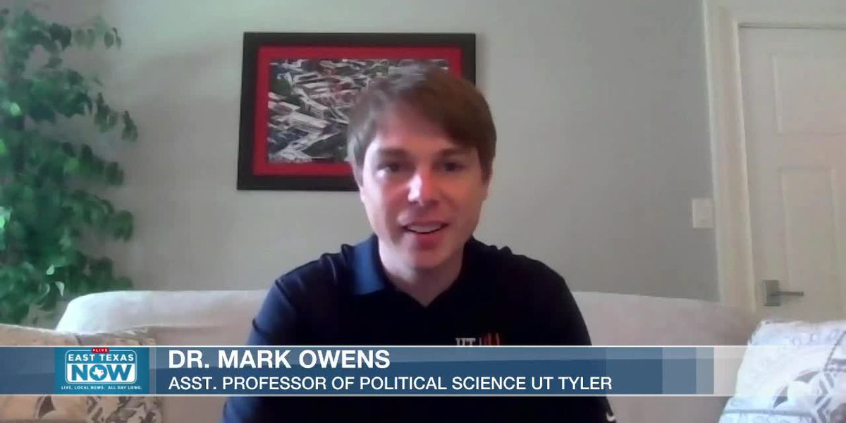 WATCH: UT Tyler professor explains how the electoral system decides the presidency
