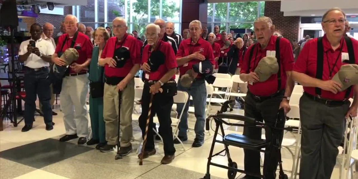 WEBXTRA: Brookshire Grocery Company's Heroes Flight departs Tyler for Washington D.C.