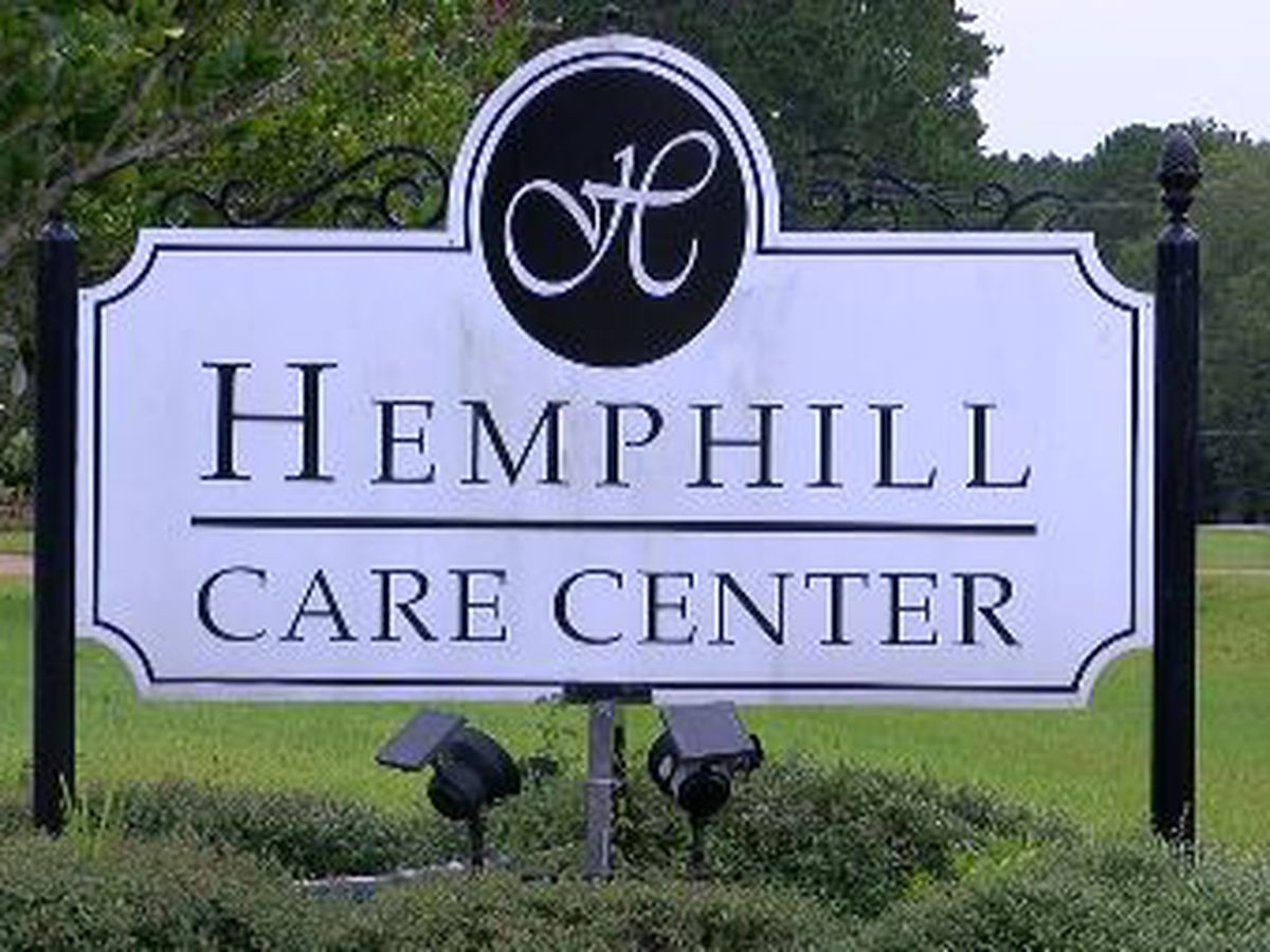 Long-term care facility hit hard by COVID-19 receives vaccine