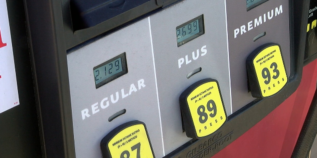 Gas prices continue to drop in East Texas