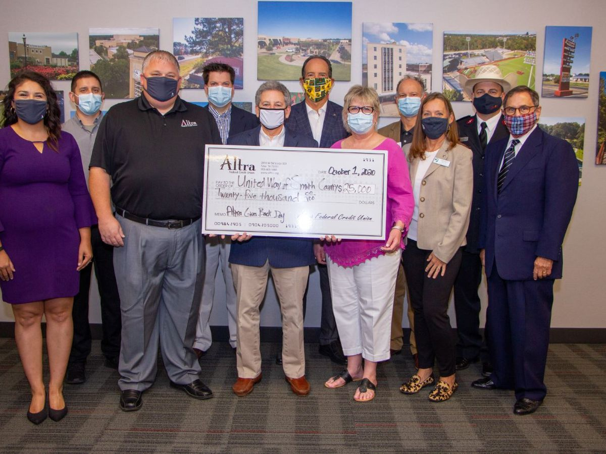 Altra Federal Credit Union donates $25K to local organizations