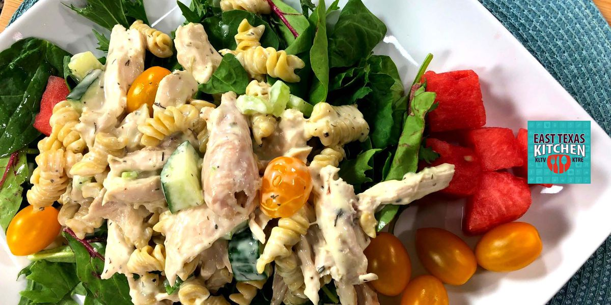 Chicken-pasta salad by Mama Steph