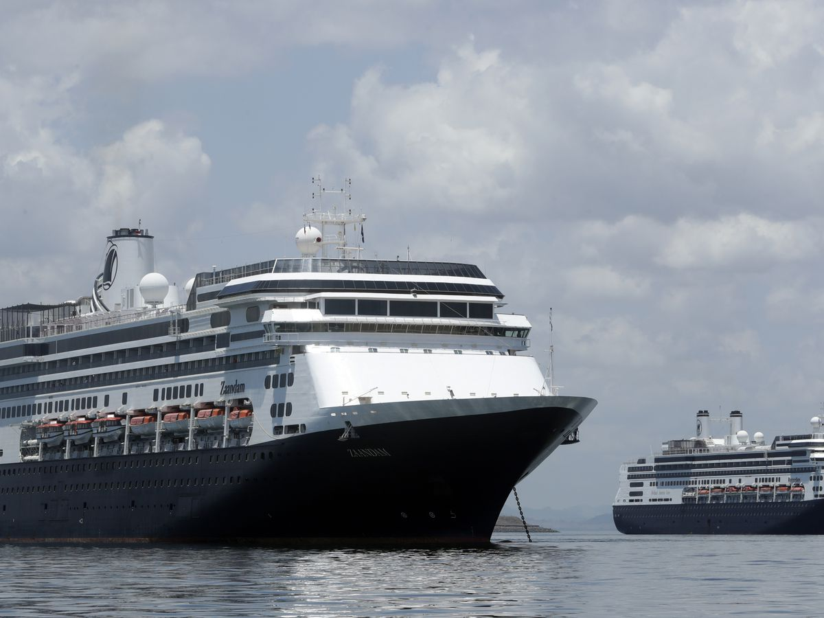 Ships with coronavirus patients dock in Florida