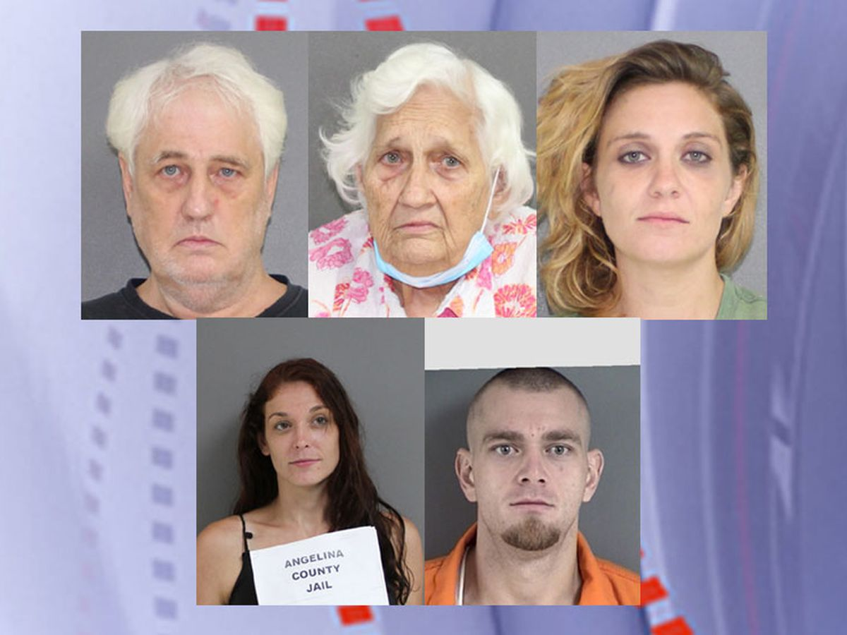 Total of 5 now charged in Angelina County case in which man was found dead in truck