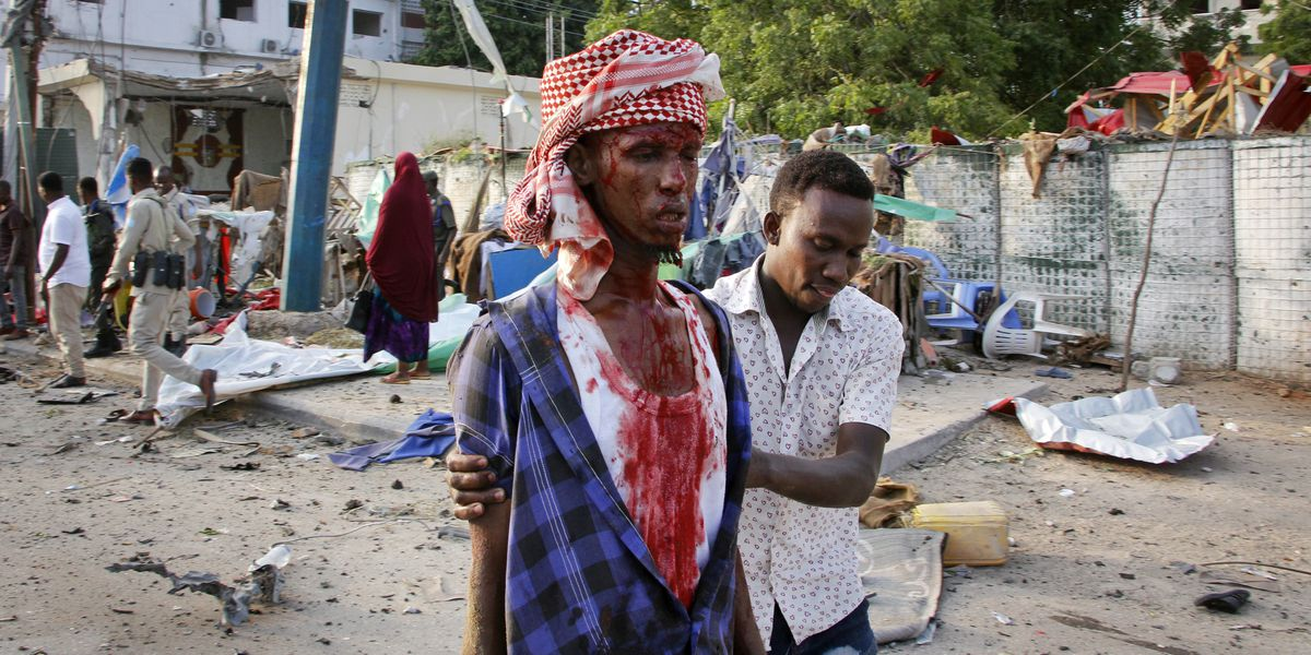 Toll rises to 53 dead from bomb blasts in Somalia's capital