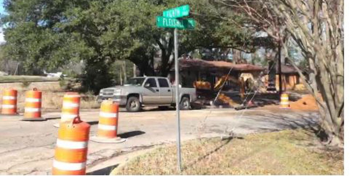 WEBXTRA: City of Tyler closes part of Fleishel Ave. to upgrade drainage system