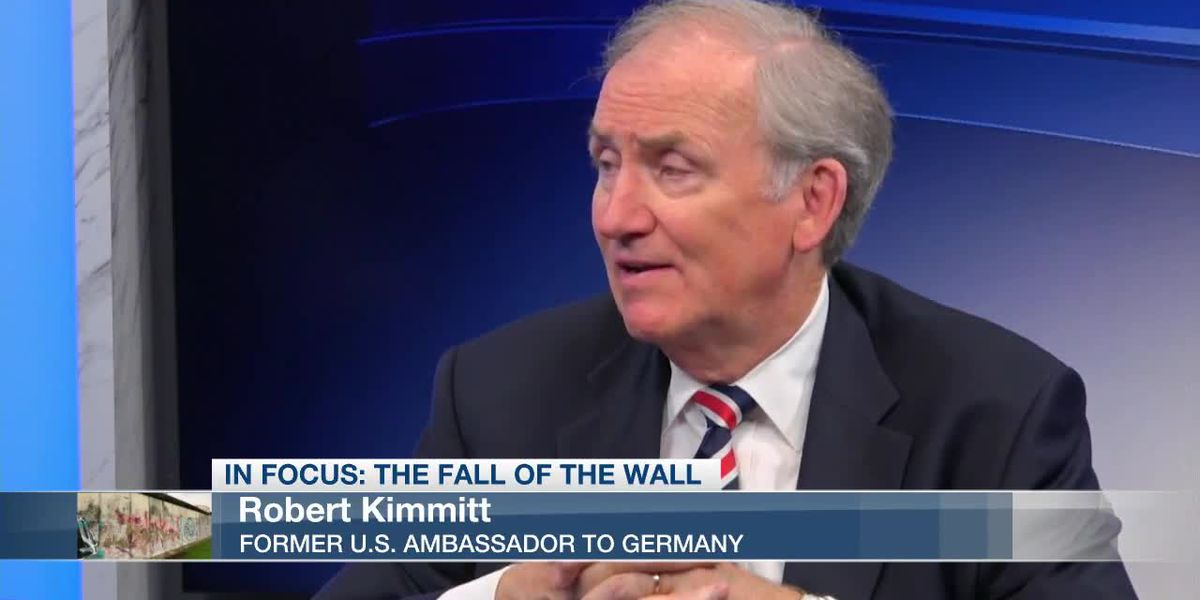 VIDEO: Fmr. Ambassador reflects on George HW Bush's role in German reunification